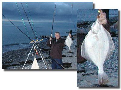 Andreas mit Plattfisch