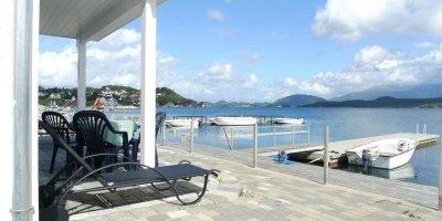 Ein Traum von einem Ferienhaus in Eidsvikkaien