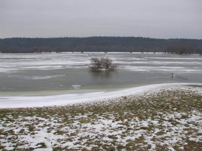 Wo angeln im Winter?