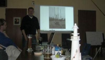 Der Vortrag zum Brandungsangelseminar