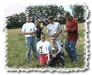 Die Sieger im Casting Heiko, Patric, Marco, Jango, Klaus und Mario