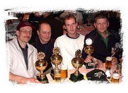 Das Wismar-Sieger-Team FOTO © J.Schneider, Das Team Fische und Angeln Wismar