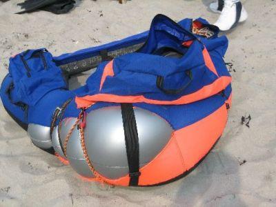 Das kaputte Bellyboot von Marcel Martins