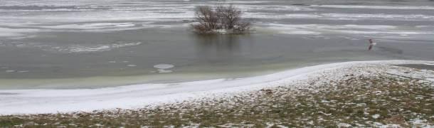 wo angeln im winter? Eisangeln ist eine Möglichkeit