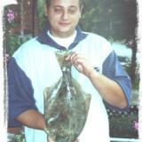 Thomas Weisse mit Plattfisch