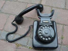 Altes-Wand-Telefon