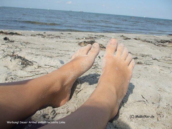 Am Strand in Dänemark abhängen (C) MaBoXer.de