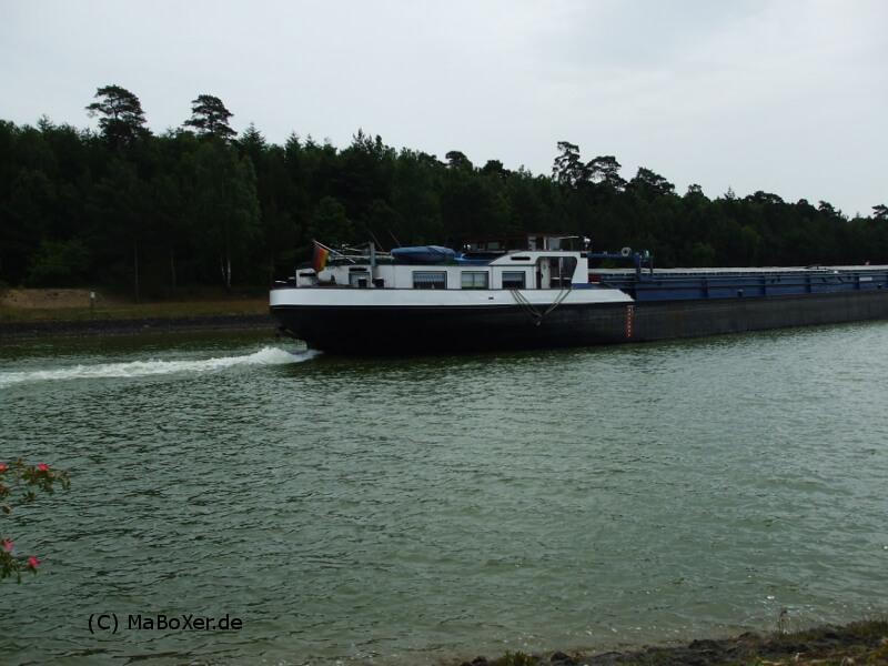 Angeln am Elbe-Seiten-Kanal bei Lüneburg