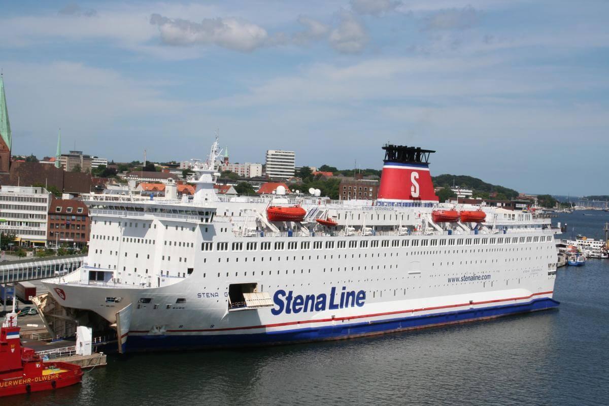Erholungswert trotz Arbeit auf der Stena Scandinavia