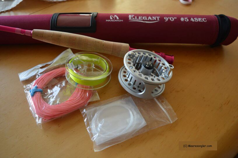 Mein neues Fliegenfischer Set zum Geburtstag