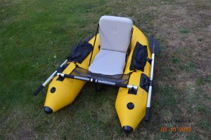 Mein Belly-Boot Floatmaster XL Tubeless (C) MaBoXer