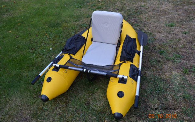 Mein Belly-Boot Floatmaster XL Tubeless © MaBoXer