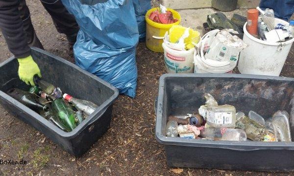 Müllsammeln beim AV Scharnebeck e.V