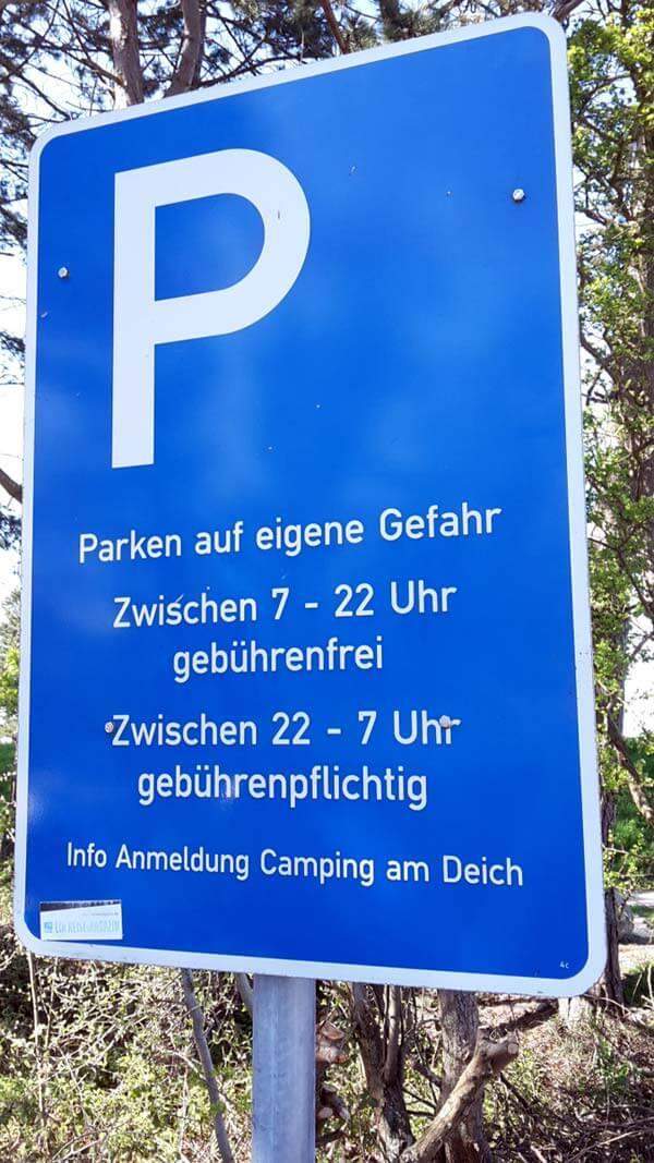 Teichhof Parkplatz - Foto © MaBoXer