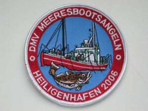 Bootsangeltage Aufnäher (C) Agalatze