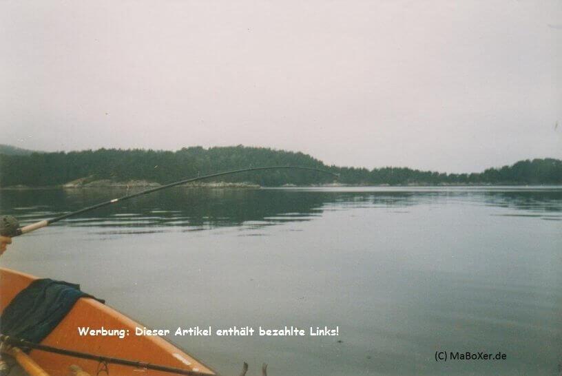 Boot fahren bringt nicht den Erfolg, sondern Angeln