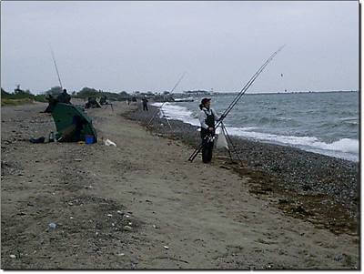 FunFishingTeam in Altenteil auf Fehmarn 2002