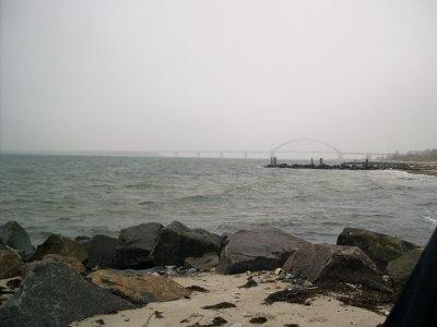 Fehmarnsundbrücke im Nebel (C) MaBoXer