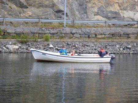 Urlaub auf der Insel Flekkeroy in Norwegen