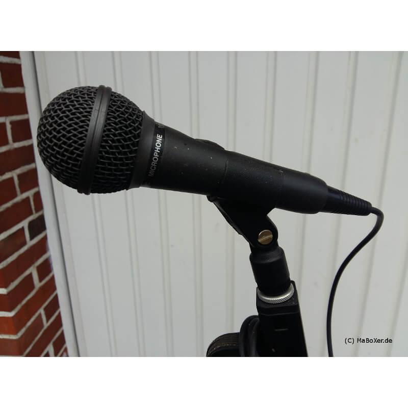 Mikrofon mit Stativ